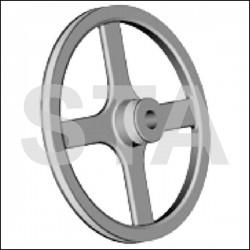 Poulie Intermédiaire diametre 255 - 900mm Dyn