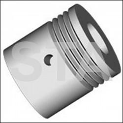 Poulie Moteur Poly V diametre 30mm Dyn- Caby 3- Polygam 3V- 6V