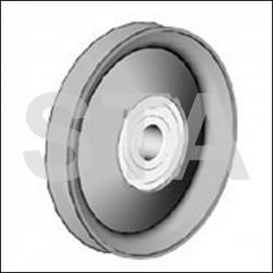 Roulette de Renvoi de Câble diametre 50mm avec Roulement