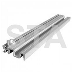 Ensemble de Seuil Aluminium MiniPlycab Indiquer la largeur totale de la porte et le sens d'ouverture