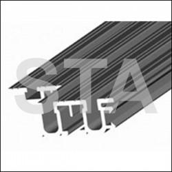 Seuil Aluminium 4BS Indiquer la largeur totale  LT  de la porte