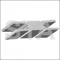 Seuil Caby 4VOC - Laser 4 Indiquer l'ouverture libre de la porte