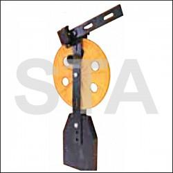 Kit poulie tendeuse limiteur double sens diam : 200 mm