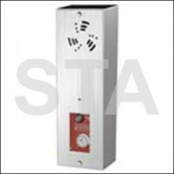 Options pour boucle acoustique. Interphonie pompiers POMP V2F BMP2