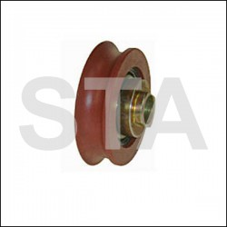 Kone contre galet pour porte ADM /ADV/Isola diam extérieur 44mm largeur 12mm