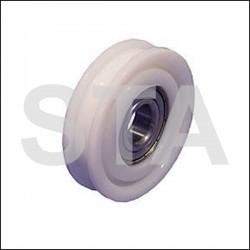 Kone roller diam extérieur 68mm diam axe 17mm largeur 18mm