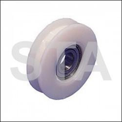 Thyssen galet diam extérieur 65mm diam axe 15mm largeur 18mm