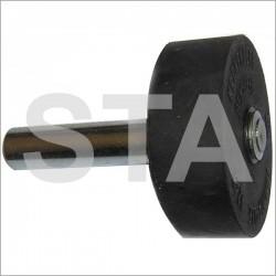 Galet diam 42 mm long : 60 mm