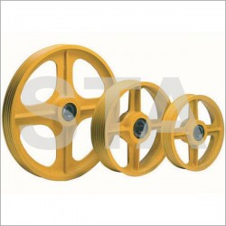 Pulley ball bearing with bearing P: 500 Number gorges: 4
