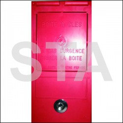 3132A plastic box key triangle