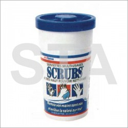 Scrubs degreasing towels, pot 72 towels