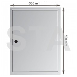 Inspection door 350x500 mm