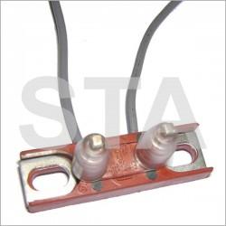 Shunts PZ avec cable H 21mm