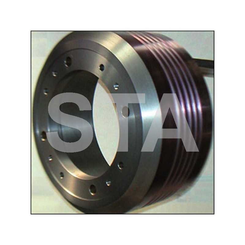 The traction sheave wheels Otis 16BT - 6xM20 - a: 175