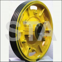 Traction sheave wheels with hub Otis 11BT