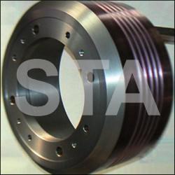 Jantes de poulies de traction Sicor SR3002, SR3010 - 6xM16 - a: 123