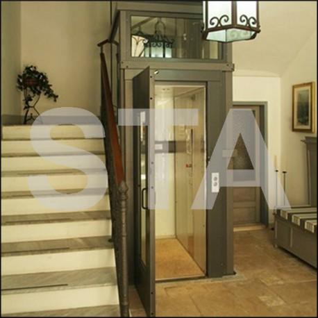 ascenseur privatif 3 niveaux piston lat ral 800 x 1300. Black Bedroom Furniture Sets. Home Design Ideas