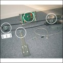 Motorization kit hinged doors