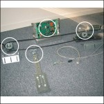 Motorization kit hinged doors