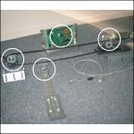 Kit motorisation portes articulées