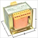 Transformers, rectifiers, capacitors