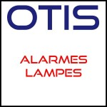 Otis alarms various lamps