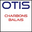Otis brushes brooms