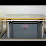 Telescopic freight elevator