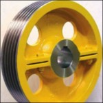 Traction sheave systems for bending